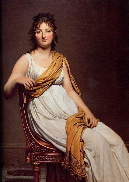 """""""Madame Raymond de Verninac"""", Jacques-Louis David"""