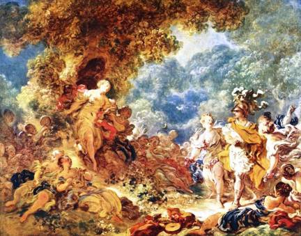 Rinaldo in the Gardens of Armida, Jean-Honoré Fragonard