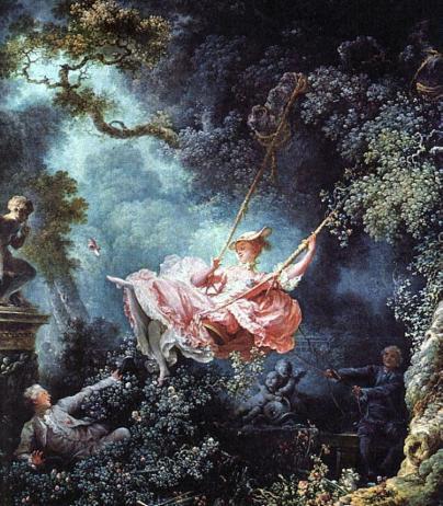 The Swing, Jean-Honoré Fragonard