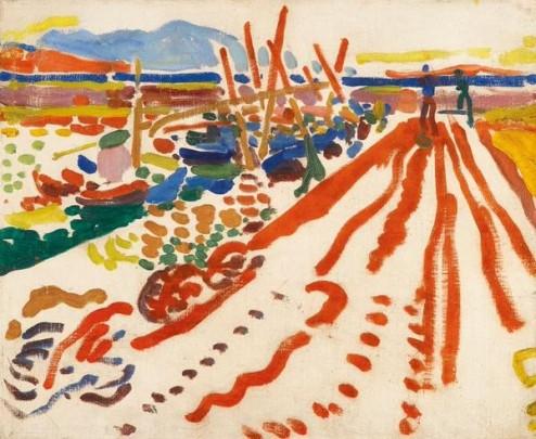 André Derain, La jetée à L'Estaque, 1906